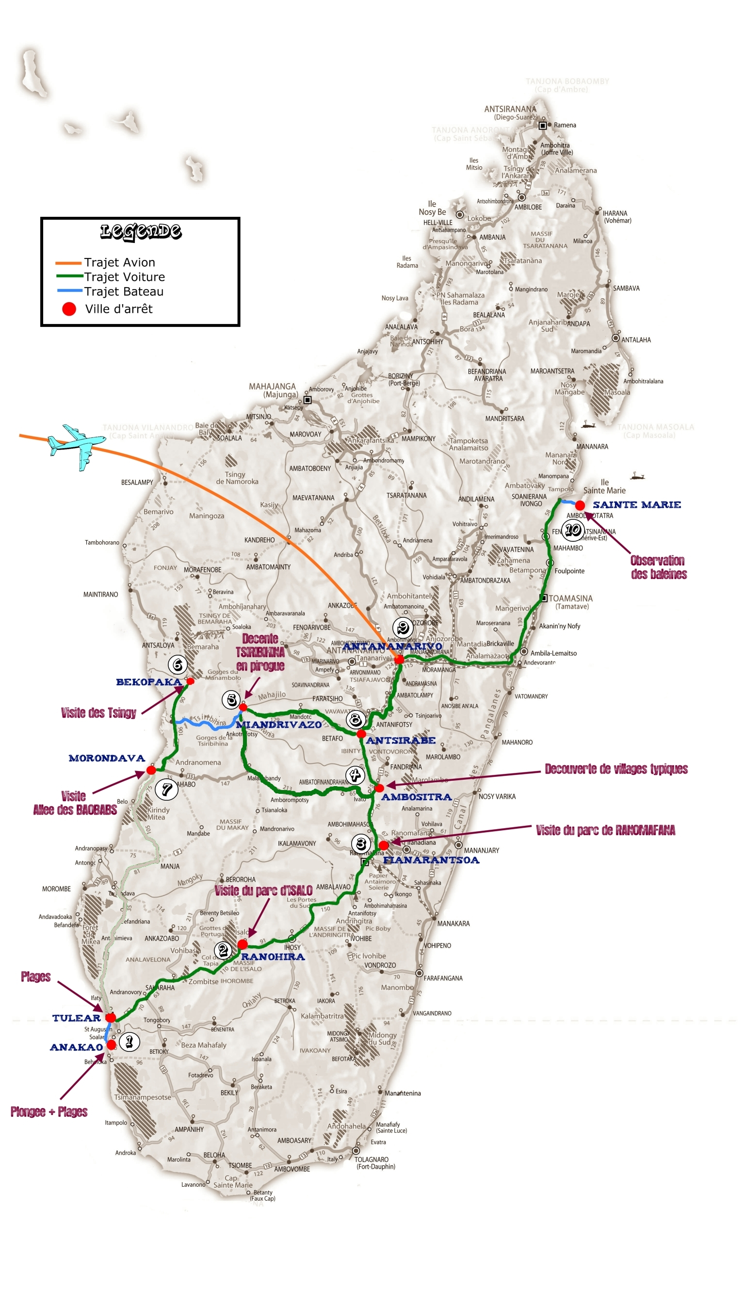 Carte Madagascar Routard.Mada Nous Voila Attirail Du Routard